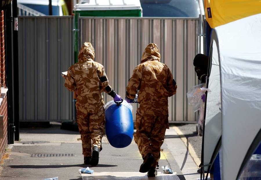 UK police claim to have found bottle containing 'Novichok' nerve agent in Amesbury victim's house