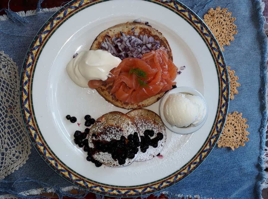 Sweet as salt: Finnish cafe braces for Helsinki meeting with 'Trumputin' fusion pancakes