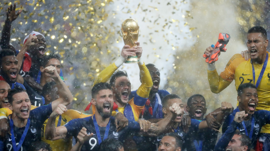France 4-2 Croatia: Les Bleus crush Croatians to win World Cup final (AS IT HAPPENED)