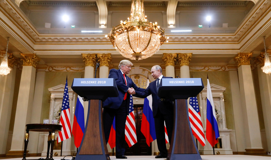 We can't afford silence between US & Russia, says German FM after Putin-Trump summit