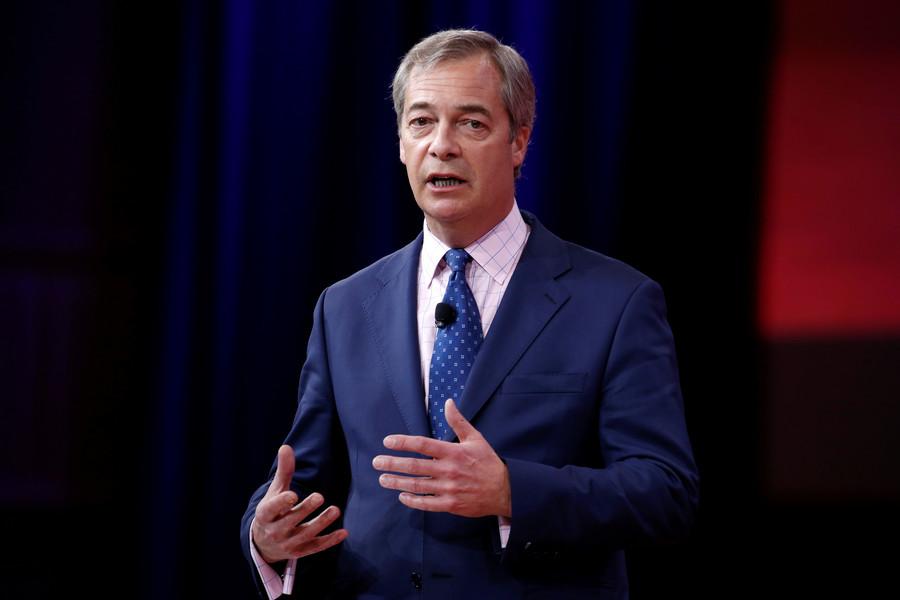 Nigel Farage news