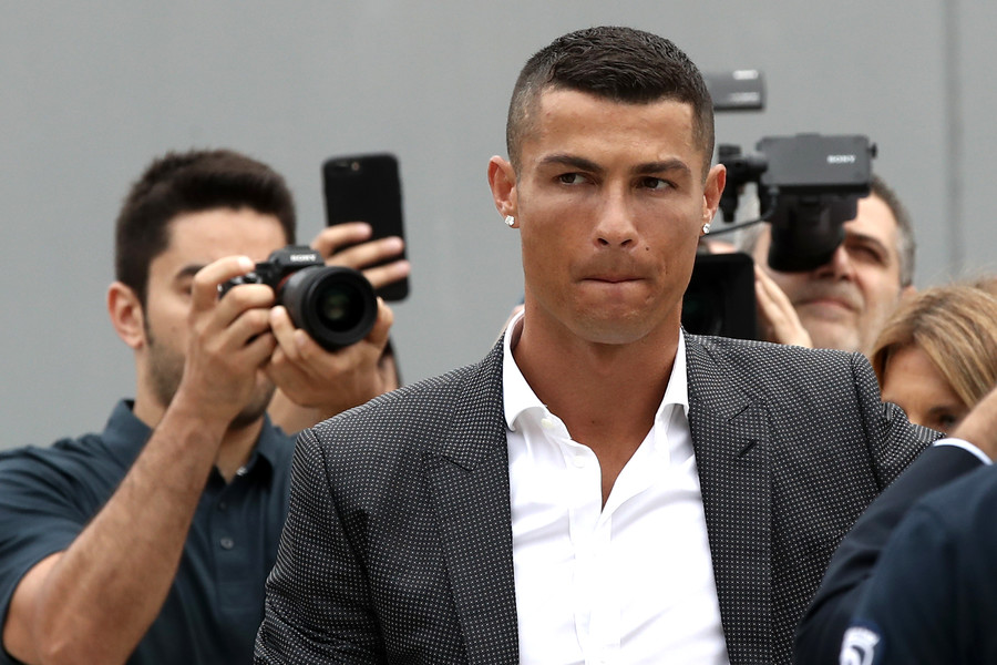 'I'm here to help Juventus win Champions League,' says Cristiano Ronaldo at unveiling