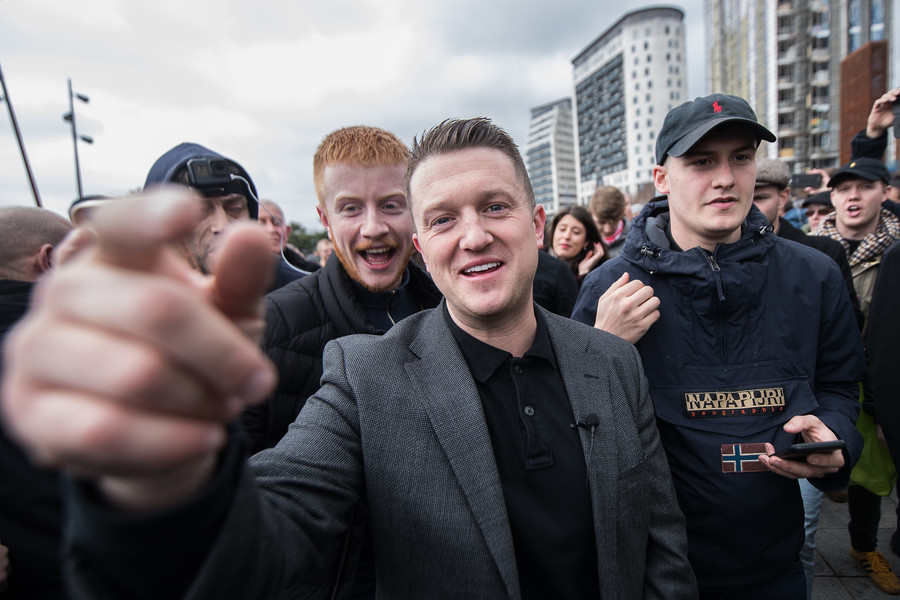 Tommy Robinson's Facebook page protected by company as it 'generates revenue', investigation claims