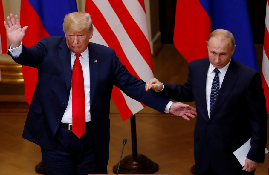 Trump says discussed Middle East with Putin, made progress on conflicts
