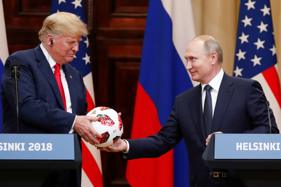 Haters would rather 'go to war' than see me getting along with Putin – Trump