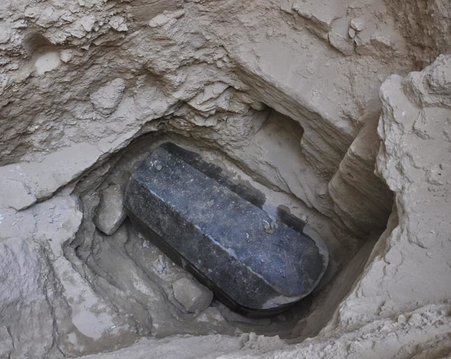 Relax! Egypt finds no evidence of curses within mysterious black sarcophagus…so far