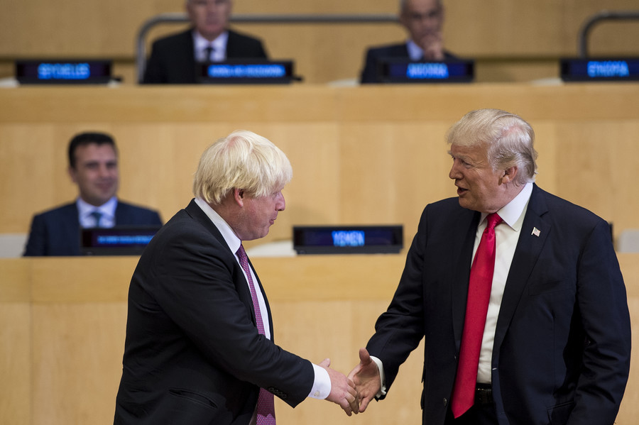 Tory MP slams Donald Trump and Boris Johnson as 'giant egos who believe in fake news' (VIDEO)