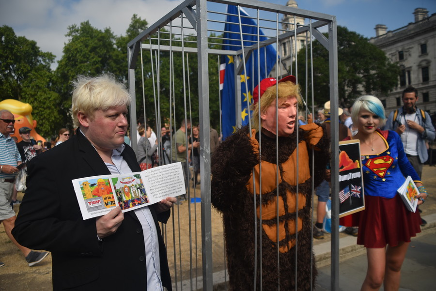 Was Trump right? Is the UK in turmoil?