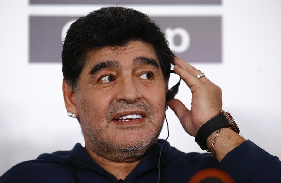 Diego Maradona news