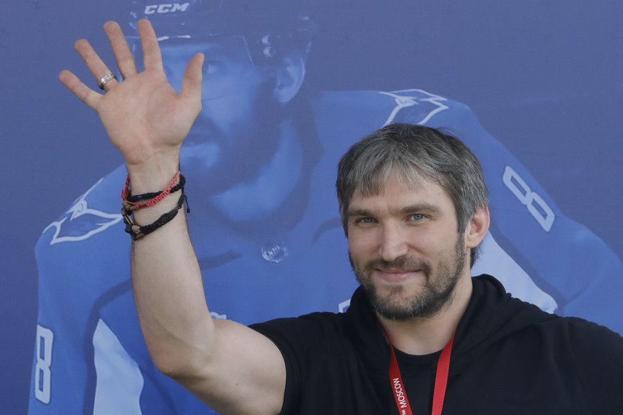 Russian NHL star Ovechkin wins ESPY best male athlete award