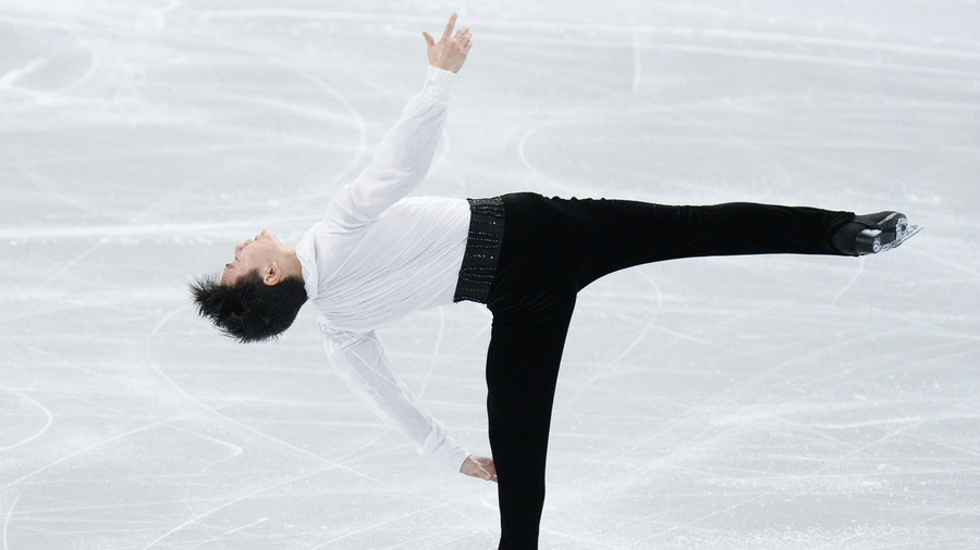 'Forgive us, we couldn't save you': Mourners pay tribute to Denis Ten at slain skater's funeral