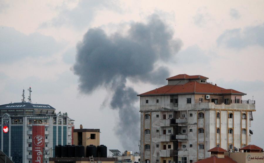 Israel launches massive air raid on Gaza - IDF
