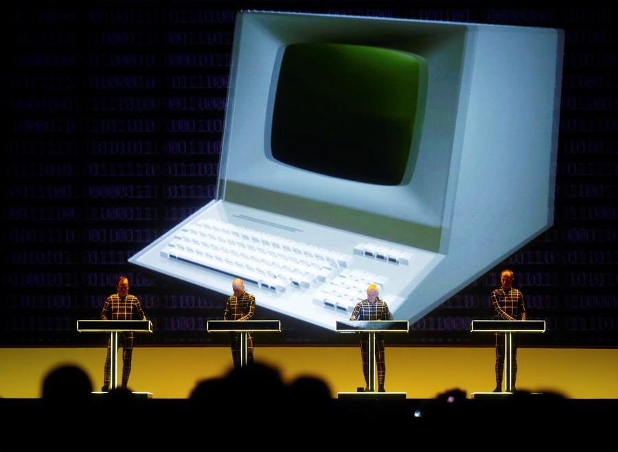 Astronaut rocks synth from International Space Station during Kraftwerk gig (VIDEO)