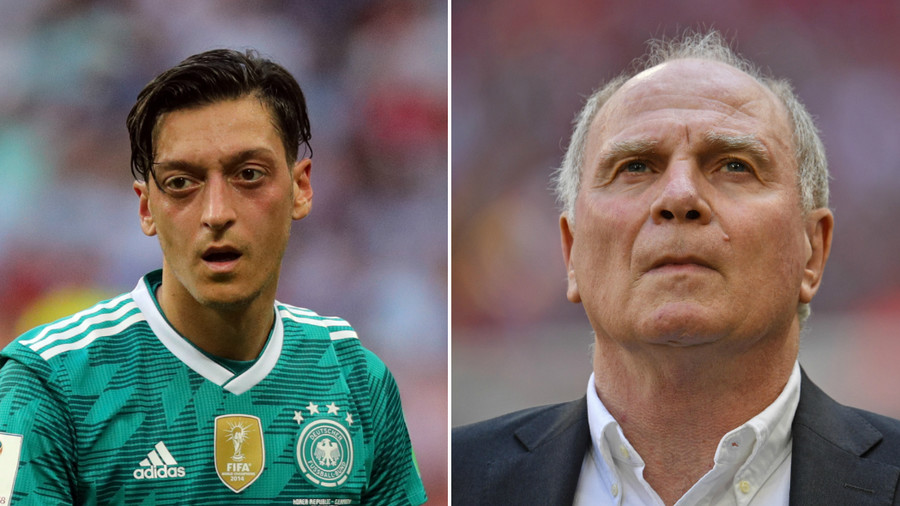 'He's been s*** for years': Bayern Munich chief Hoeness slams Ozil after shock retirement