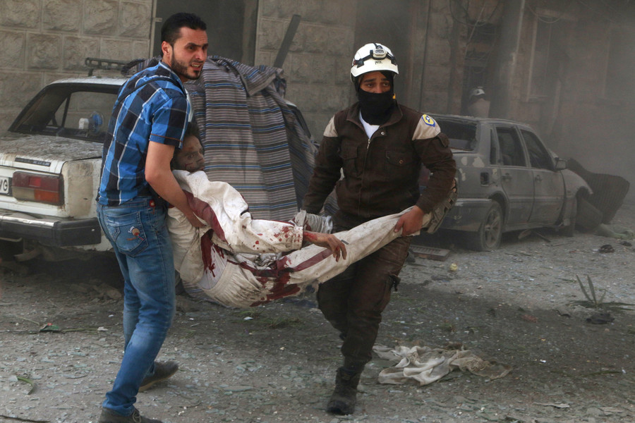 White Helmets news