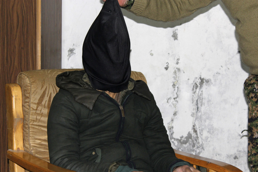US man captured in Syria charged with aiding ISIS