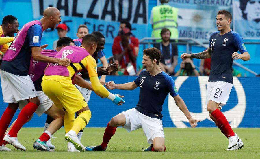 Sacrebleu! Pavard stunner wins World Cup goal of the tournament