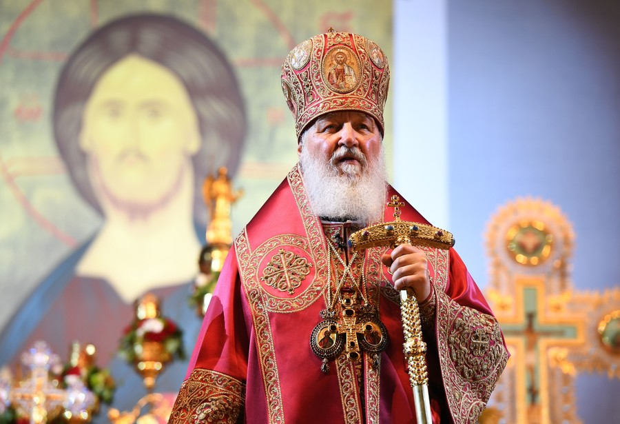 Russian Orthodox Patriarch hopes anniversary of Christianization will bring peace to Ukraine