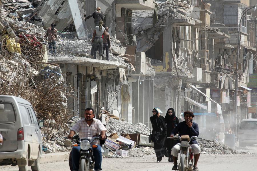 Raqqa news