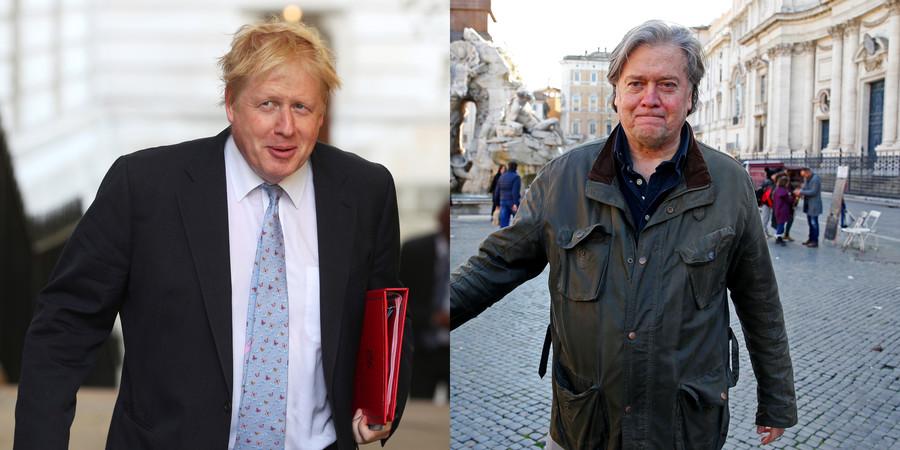 Bannon & BoJo 'in contact': Links grow between Trump's alt-right guru & Brexiteers
