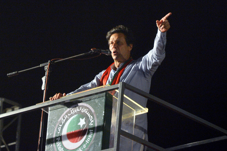 Imran Khan declares victory in Pakistan's general election