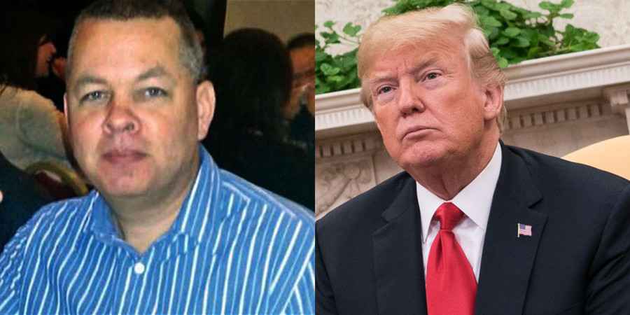 Release American pastor or face big sanctions, Trump threatens Turkey