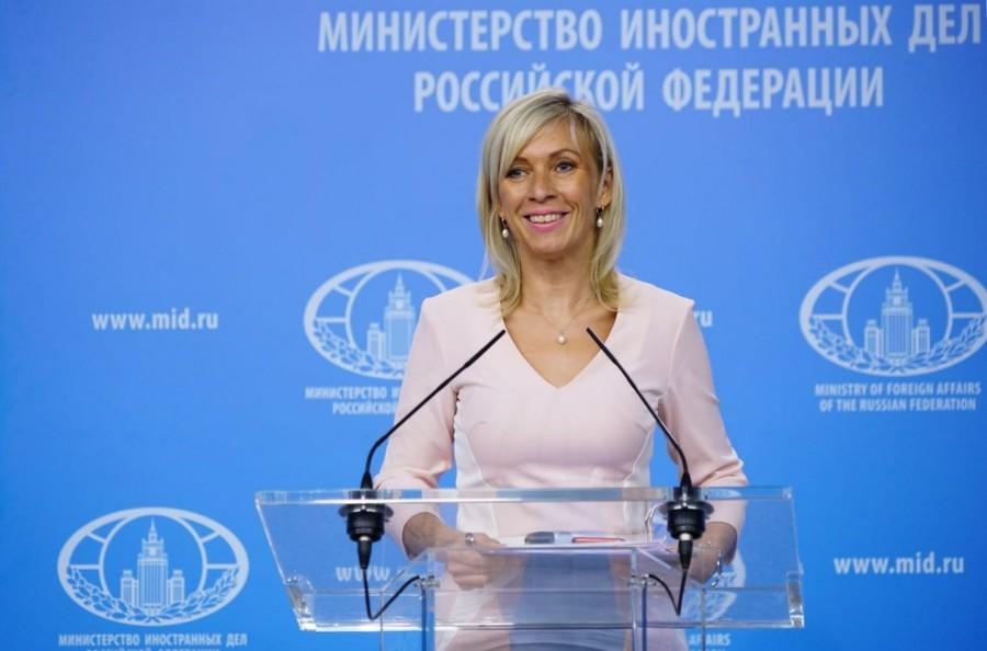 Maria Zakharova news