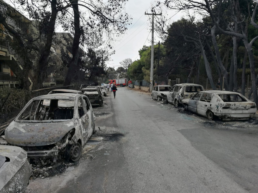 Greece wildfires called Europe's 'deadliest' in a century