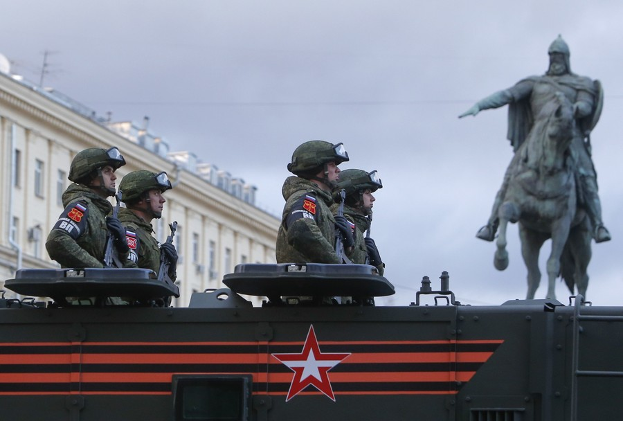 Russia forms military political directorate to boost troop morale