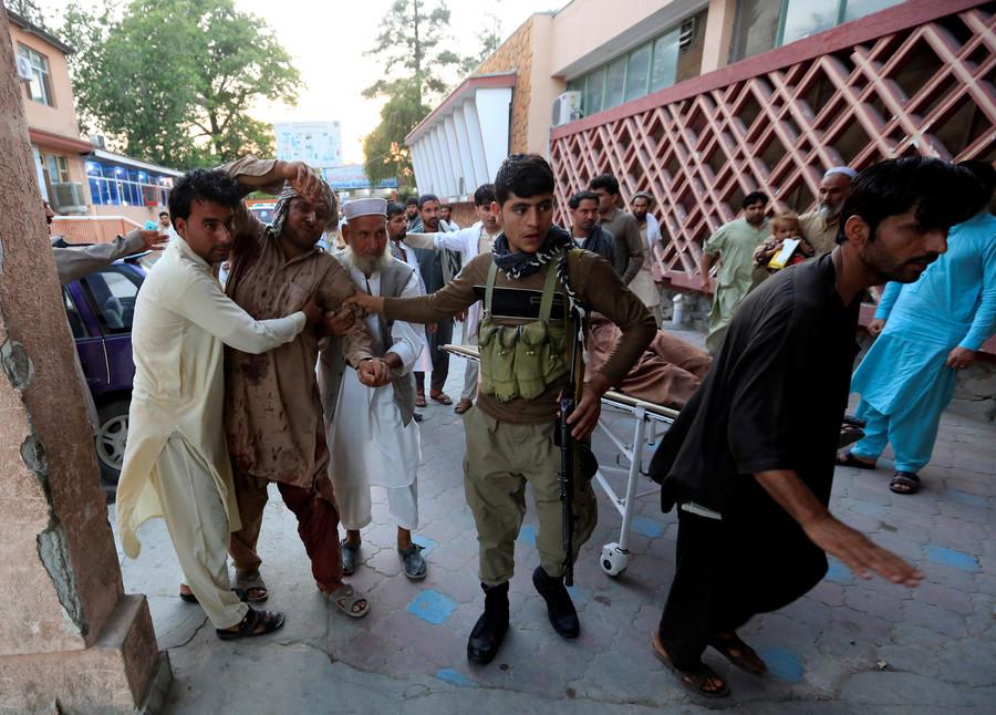 6 dead in blasts & heavy gunfire in eastern Afghanistan (PHOTOS, VIDEO)