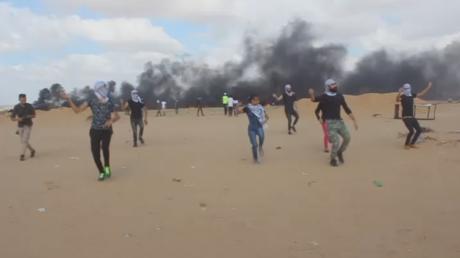 5b385776dda4c8b9148b457b Great Dance of Return: Palestinians perform Dabke to the sound of bullets at Gaza border (VIDEO)