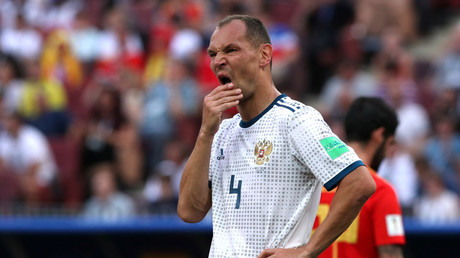 Russia's Ignashevich becomes oldest-ever World Cup own-goal scorer