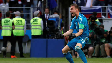 'I wasn't the best player' – Humble Russian goalkeeping hero Akinfeev on shock World Cup win
