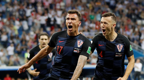 5b393c37dda4c8ae148b4623 Croatia beat Denmark on penalties to set up World Cup quarter-final with Russia