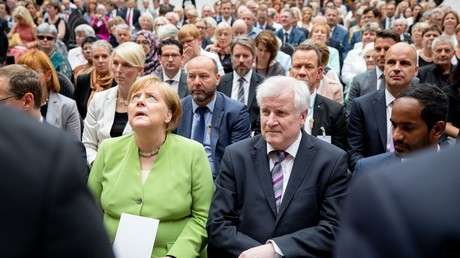 German Chancellor Angela Merkel and Federal Minister for Internal Affairs Horst Seehofer, 20 June 2018, Germany, Berlin © Kay Nietfeld