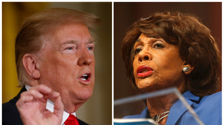 Trump takes aim at 'crazy' Maxine Waters, says her antics will send people fleeing from Democrats