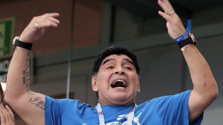 Argentina legend Maradona ready to coach national team 'for free'