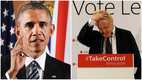Boris is the 'British Trump': Obama's nickname for Johnson revealed