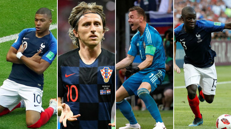 World Cup Dream Team: The best players on display in Russia so far