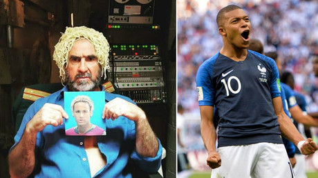 'Running through the field, you couldn't catch him': Cantona trolls Argentina in Mbappe song (VIDEO)