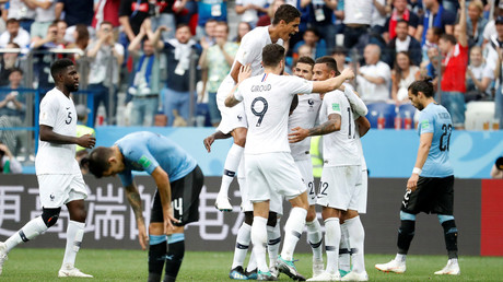 Superior France vanquish Uruguay's fighting spirit to storm into World Cup semis