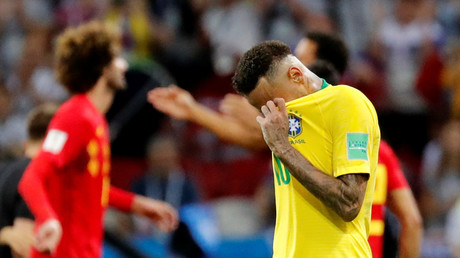 Brazil 1-2 Belgium: Neymar out as Red Devils hold on for stunning victory (AS IT HAPPENED)