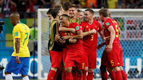 Brazil 1-2 Belgium: Brilliant Belgians sweep past Samba Boys to book World Cup semi-final spot