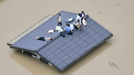 At least 44 dead, dozens missing as heavy rain causes floods & landslides in Japan (PHOTOS, VIDEOS)