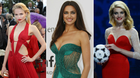 Top Russian supermodels strip off in support of national football team (PHOTOS)