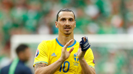 Every Sweden player should get World Cup Golden Ball, says Zlatan Ibrahimovic