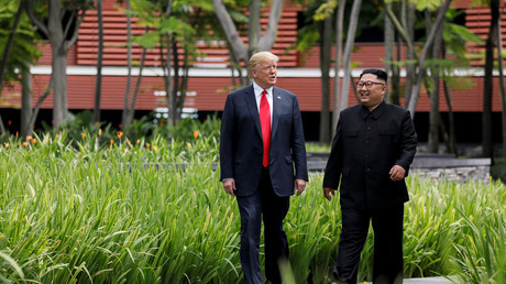 Trump 'confident' that Kim Jong-un will 'honor our contract and handshake'
