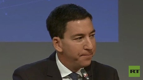 'The Kremlin pays him': The Intercept's Greenwald attacked by MSM after Moscow trip