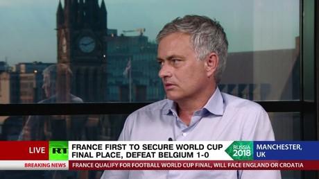 5b4518c9fc7e93795b8b4646 'Belgium kept hiding on the biggest stage, but Pogba was mature' - Jose Mourinho on France v Belgium