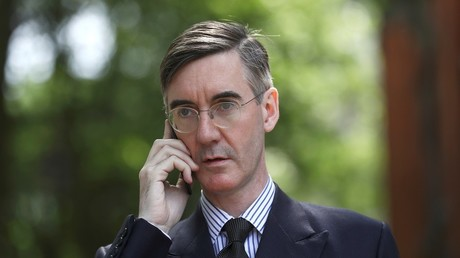 Conservative MP and leading supporter of Brexit Jacob Rees-Mogg in central London © Simon Dawson